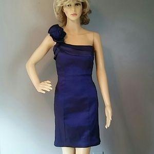 Snap Party Valentine's Dress Purple sz M